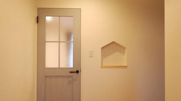 建具、扉、ニッチ、可愛いニッチ