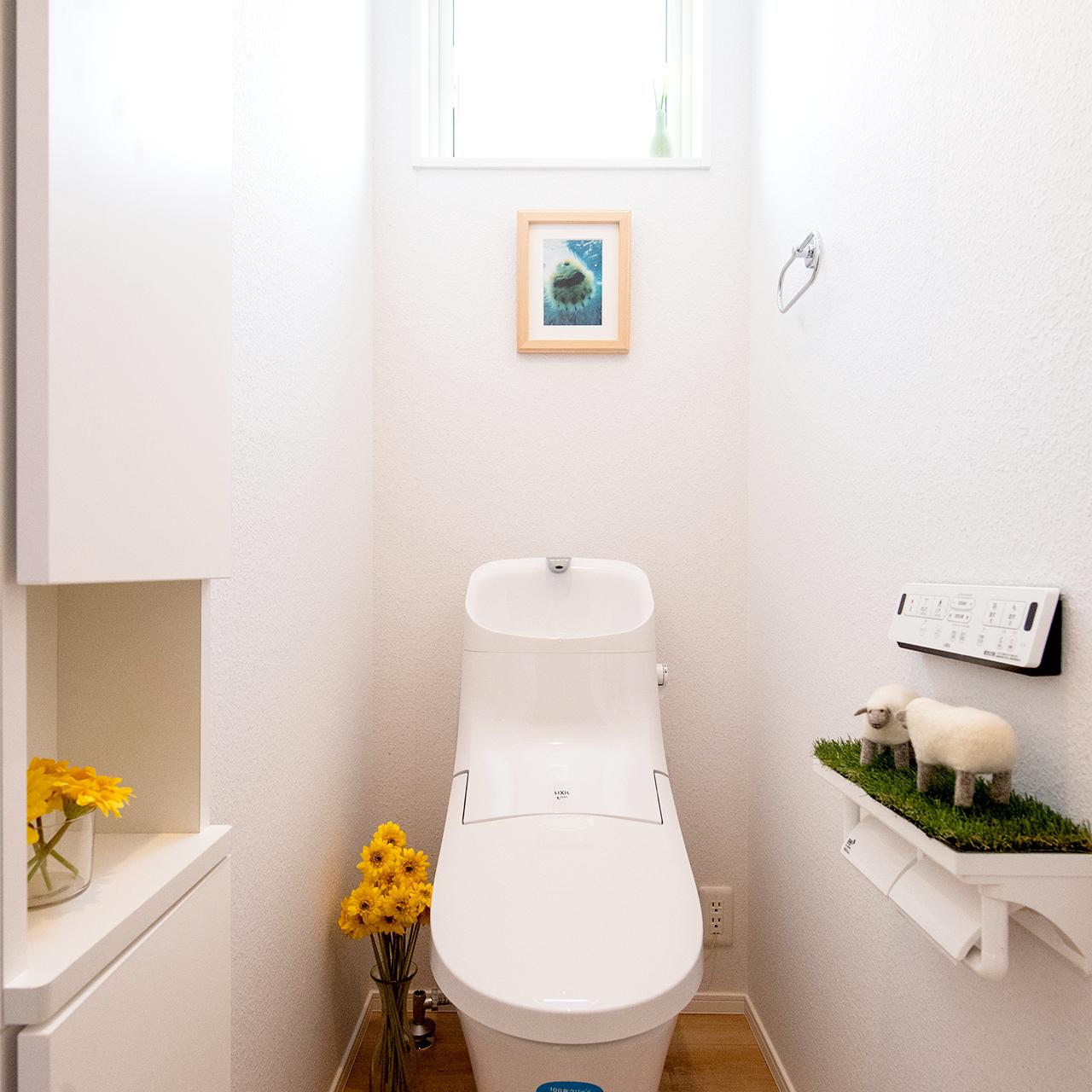掃除しやすい新型トイレ