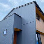 モデルハウス、西条市、喜多川、ガルバリウム鋼板