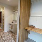 広い脱衣所、洗面脱衣室、家事室